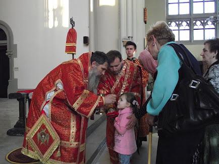Архиєрейська Літургія Передшосвячених Дарів