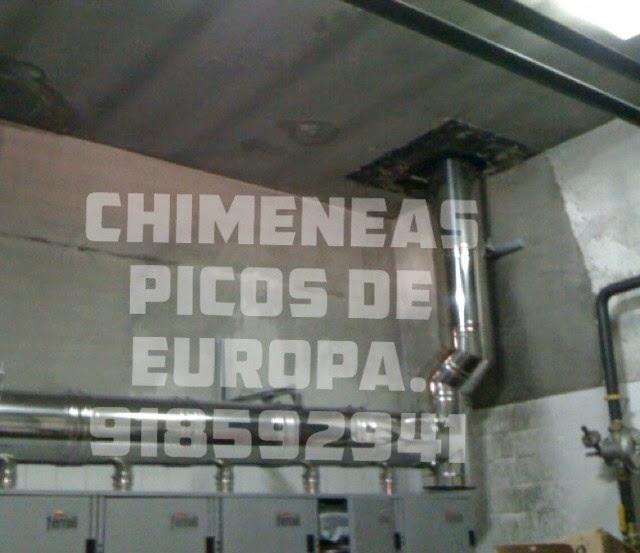 Chimeneas picos de europa tubos acero inoxidable - Chimeneas picos de europa ...