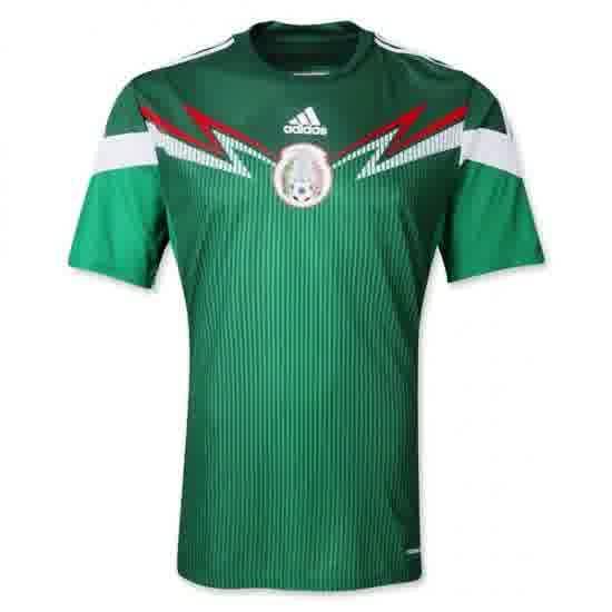 Jual Jersey Mexico Home Piala Dunia 2014