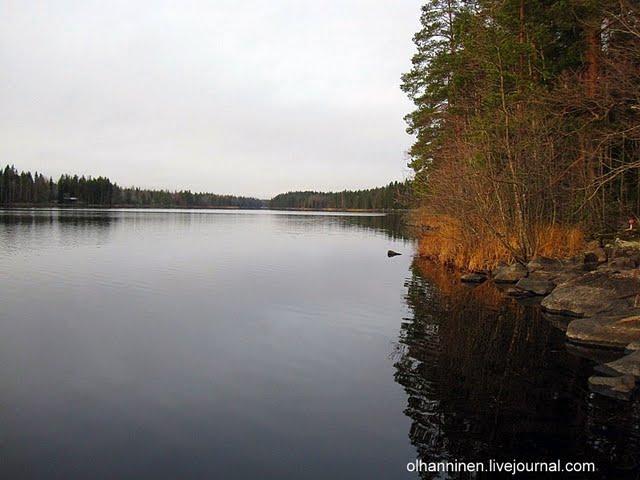 В кристальной воде озер зеркально отражаются замшелые камни и силуэты берез и сосен