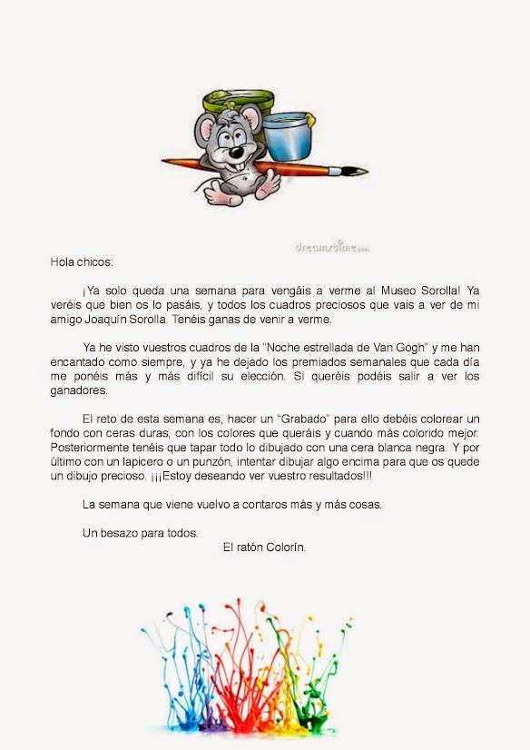 Plástica   Clases de 5 años del Ceip Gonzalo Fernández de Córdoba ...