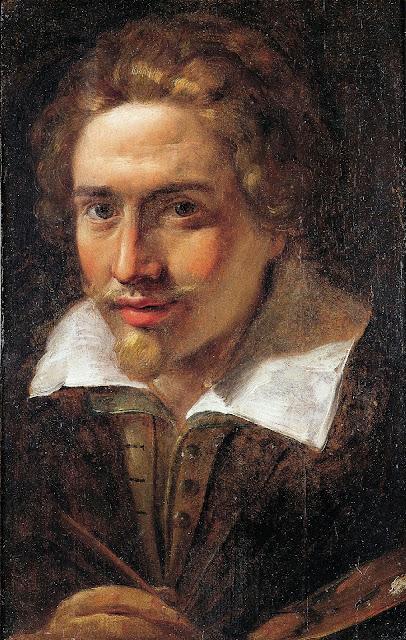 Giulio Cesare Procaccini - Selfportrait.