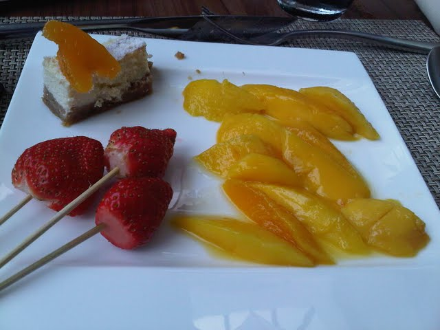 Cheesecake, Fruits