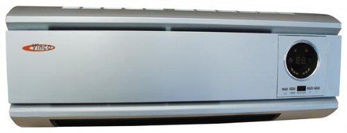bathroom electric heaters wall mount. Vinco Mini Wall Mounting 2kW Fan Heater With LCD Bathroom Electric Heaters Mount D