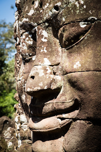 Bayon up close