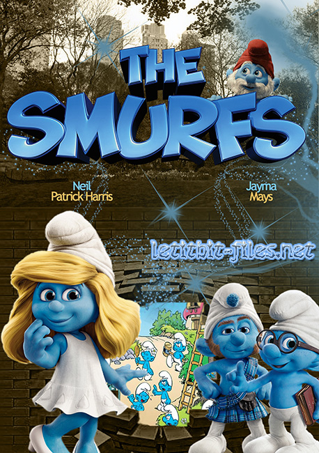 Смурфики / The Smurfs (2011) DVD9 / DVD5 + DVDRip