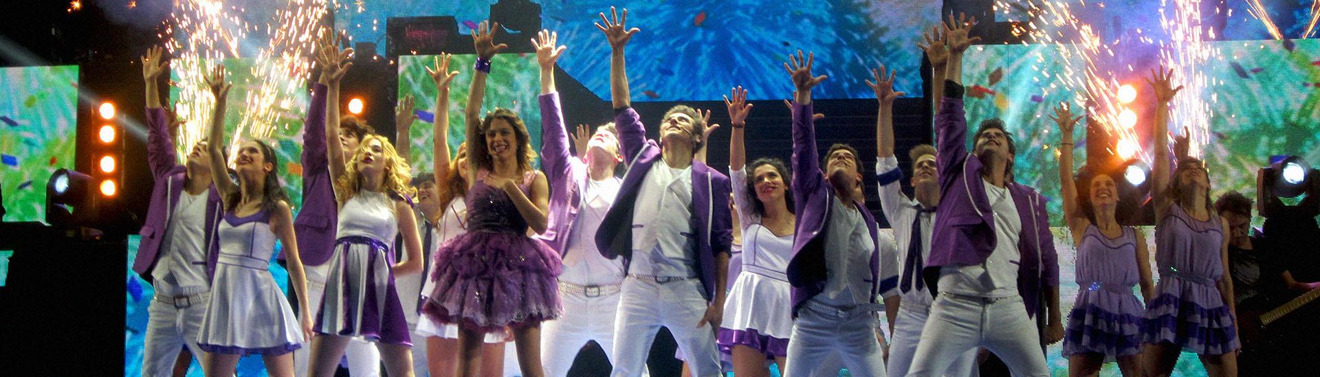 Baner filmu 'Violetta: Koncert'