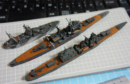 IJN Oyodo Papercraft Light Cruiser
