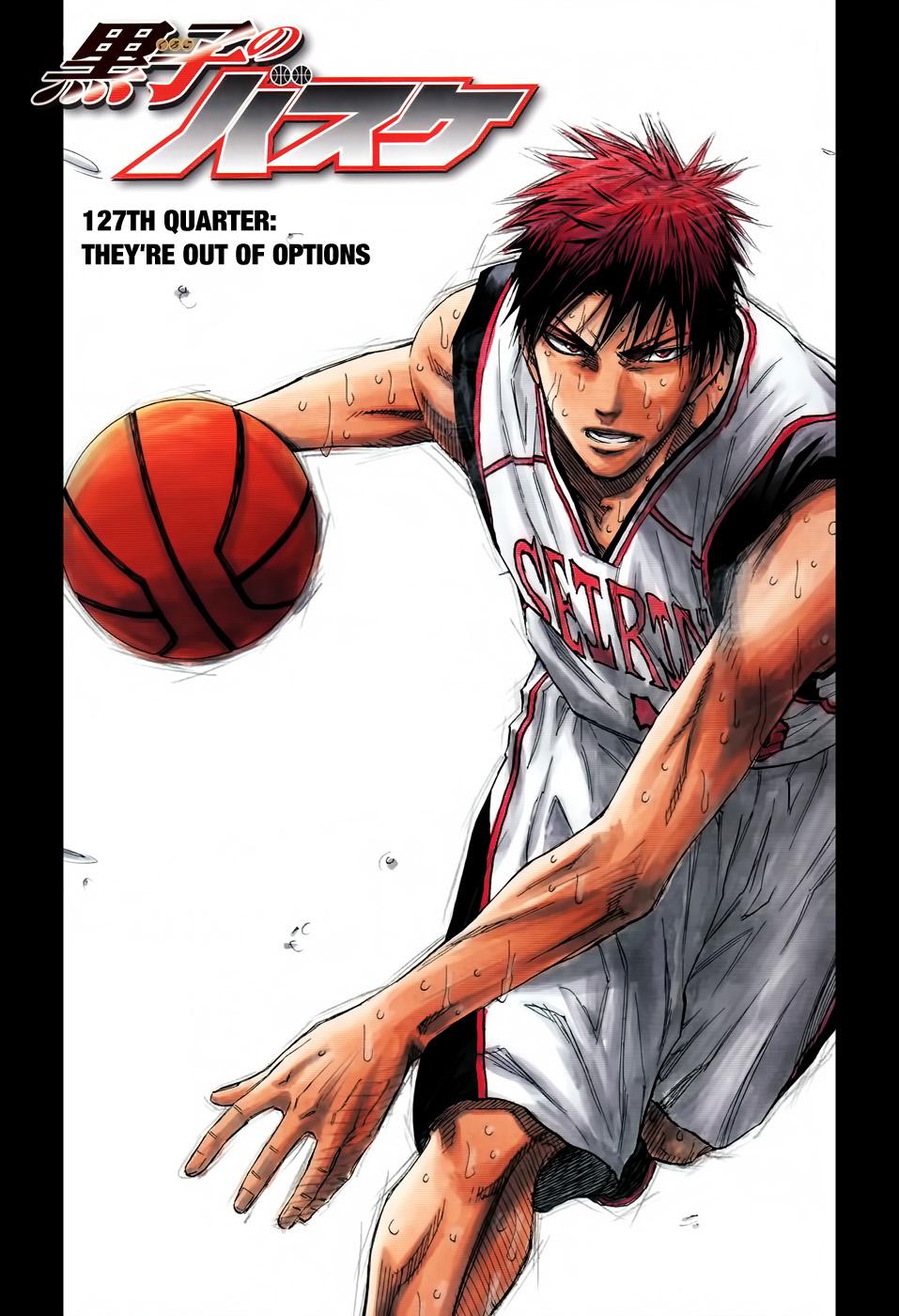 Kuroko no Basket Manga Chapter 127 - Image 07