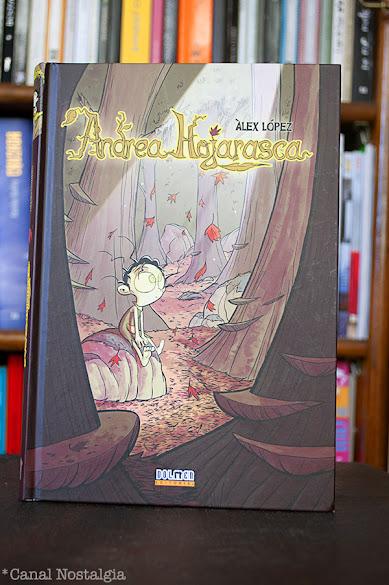Andrea Hojarasca Alex Lopez portada