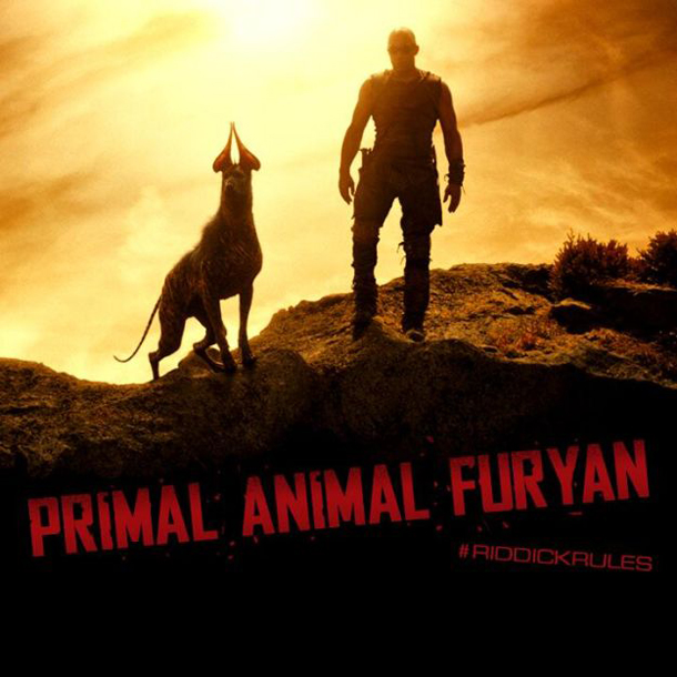 Riddick Primal Animal Furyan Promo Art
