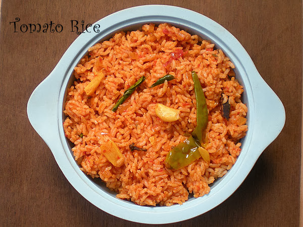 Spicy Tomato Rice Recipe