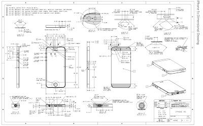 iPhone5sの図面