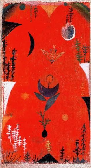 Paul Klee - Flower Myth