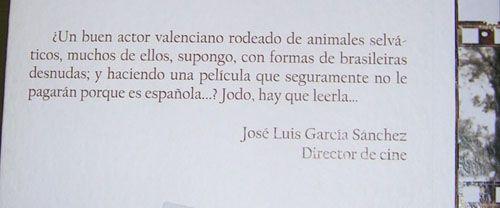 """Presentación de """"Laberinto de celuloides"""", de Sergio Villanueva"""