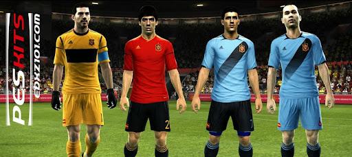 Espanha Kitset 2012 - PES 2012