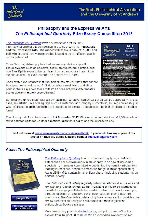 philosophical explorations essay prize 2012 Winner of the teorema essay prize for young scholars philosophical explorations 2016 near final draft répha 2012 published version wittgenstein.