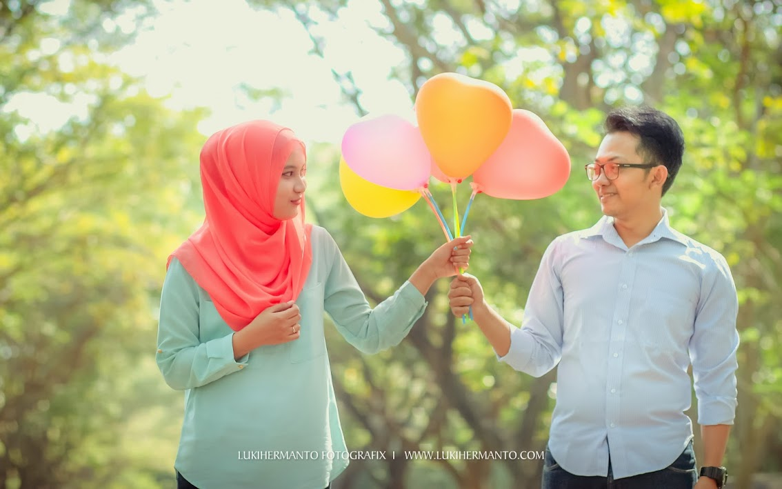 Foto prewedding terbaru 2014 properti balon