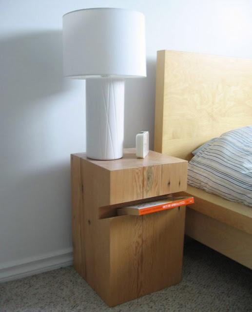 30 оригинални алтернативи за шкаф до леглото в спалнята