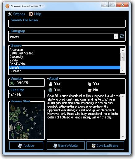 حمل اكثر من 200 لعبة بواسطة هذا البرنامج(Game Downloader 2.9)