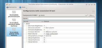 KOSD - configurazione