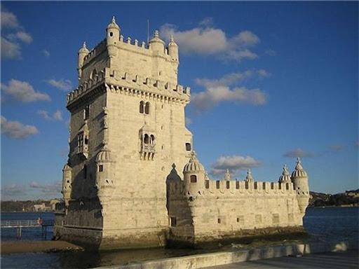 Башня Белем символ Лиссабона