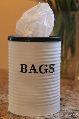кутия за найлонови торбички