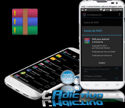 RAR para Android