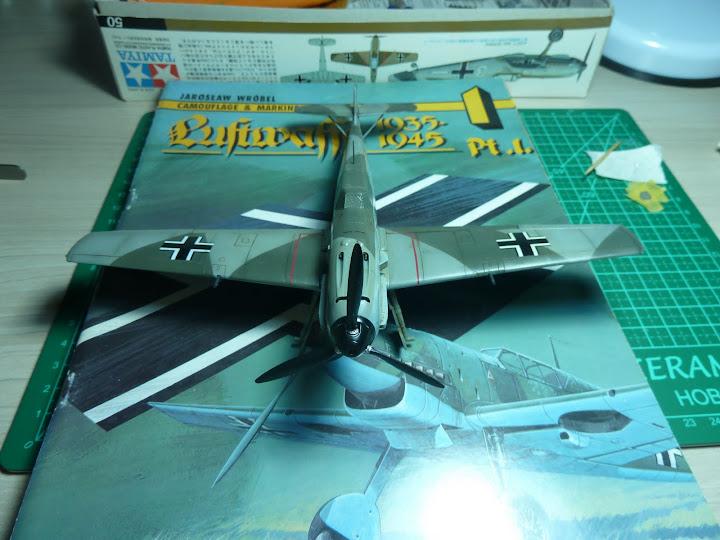 Bf-109 E-3 Tamiya 1/48 - Reforma pintura P1020565