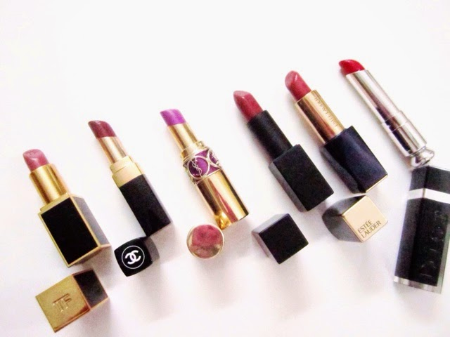 My Top 6 High-End Lipstick Formula