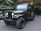 1986 BLACK JEEP CJ7 WITH HARTOP - JUST RESTORED - NO initial price!!!
