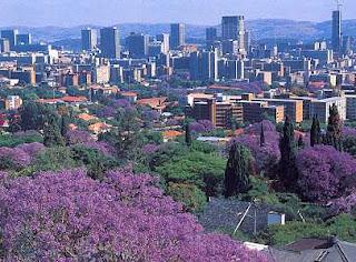 Une vue de la ville de Pretoria en Afrique du Sud (Photo mudago.com)