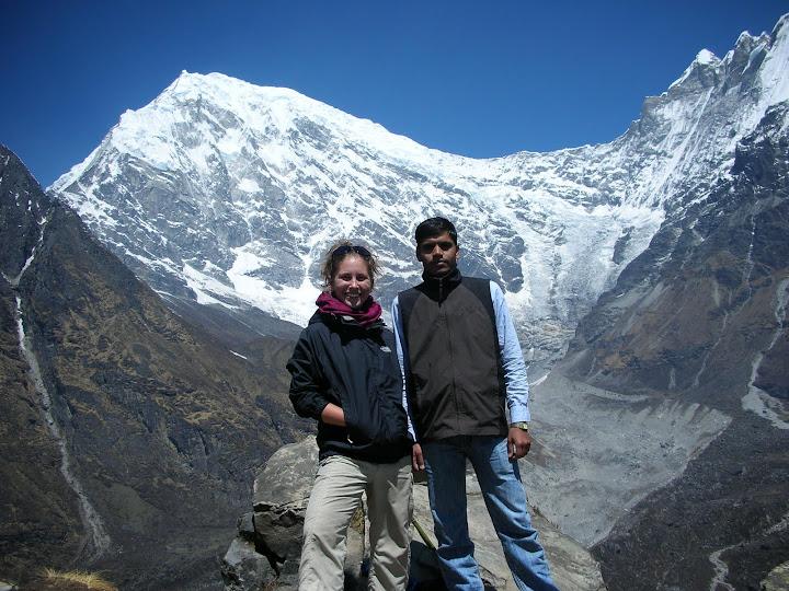 Danielle Koffler in Nepal