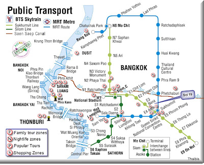 Map Images Bangkok SM Hub