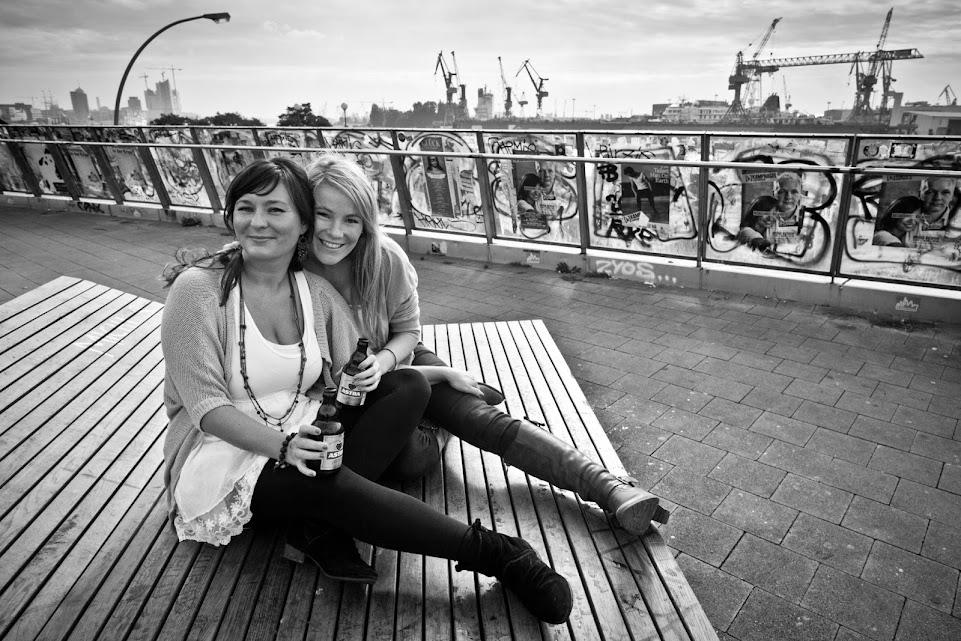 Beste Freundinnen Fotoshooting Hamburg