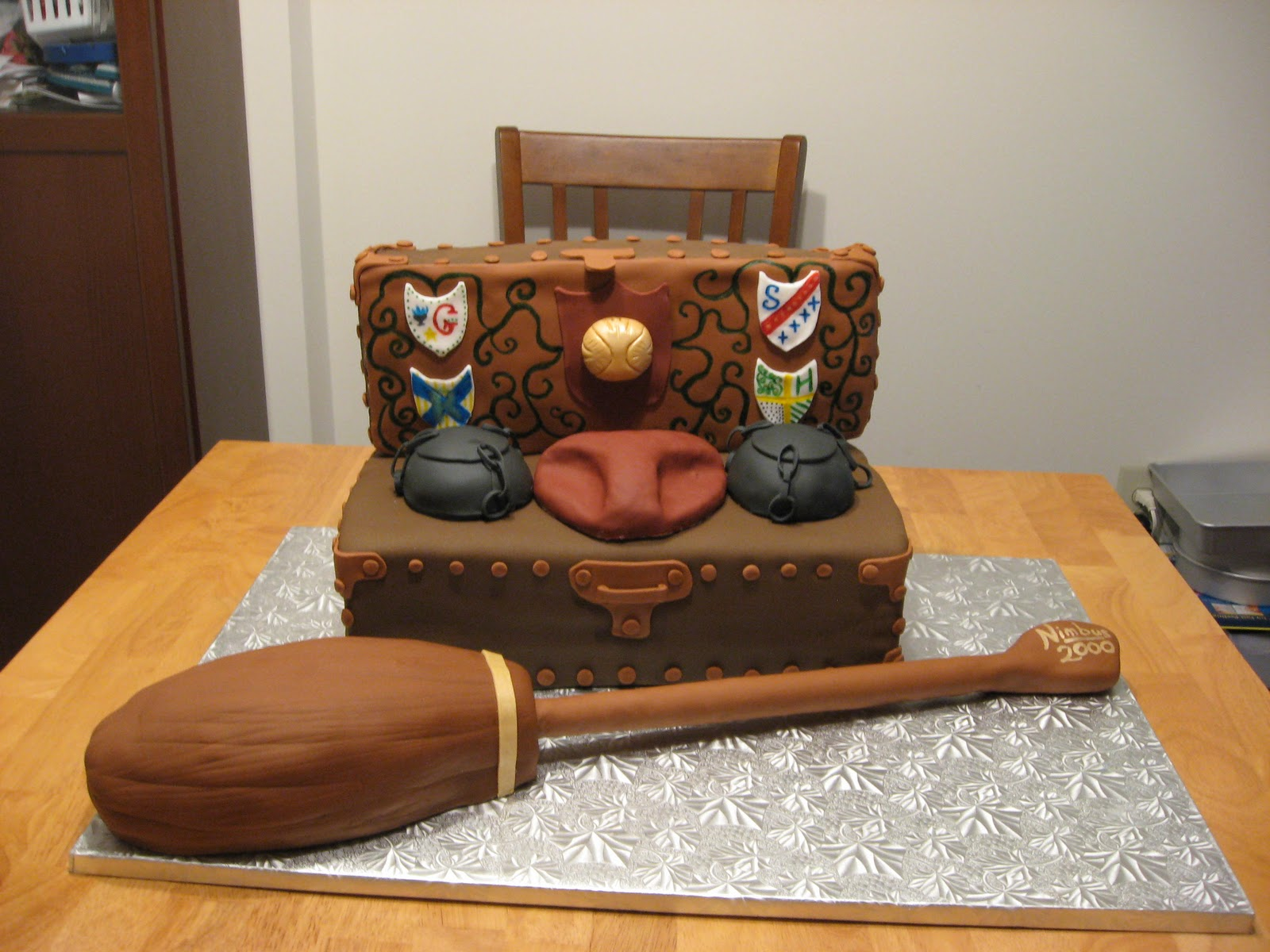 Sweet Cakes DC Harry Potter Cake