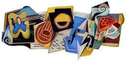 Google Doodle Juan Gris