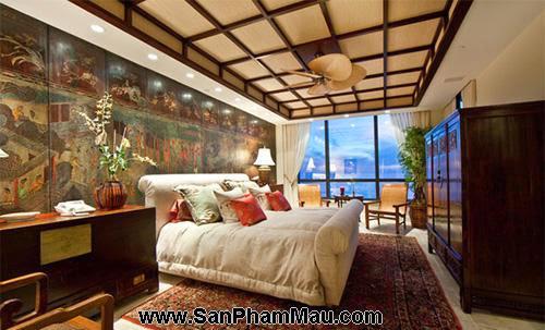 Phòng ngủ kiểu châu Á-2