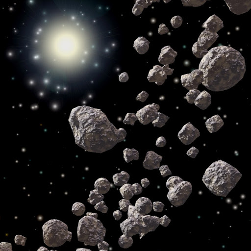 asteroid belt worksheets learny kids - 512×512