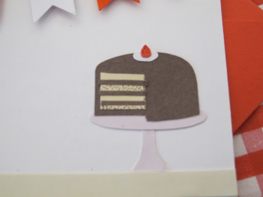 A detail of Shae's card.