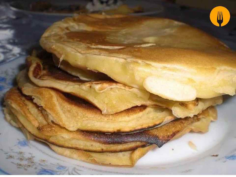 receta Tortitas nata chocolate
