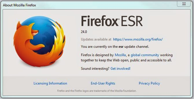 The Catling Mindswipe: How-to: Change your Firefox Update ...