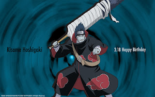 kisame hoshigaki wallpaper, happy birthday image