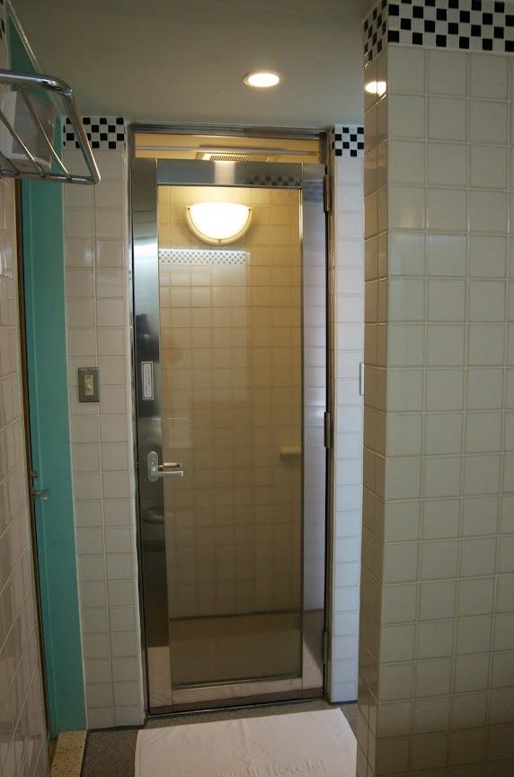 単独のシャワールーム