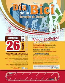 Día de la Bicicleta en Torrejón de Ardoz, domingo 26 de mayo