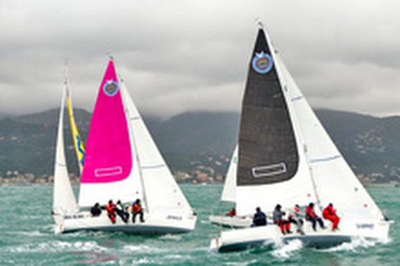 J/80s sailing Championship of champions- Italy
