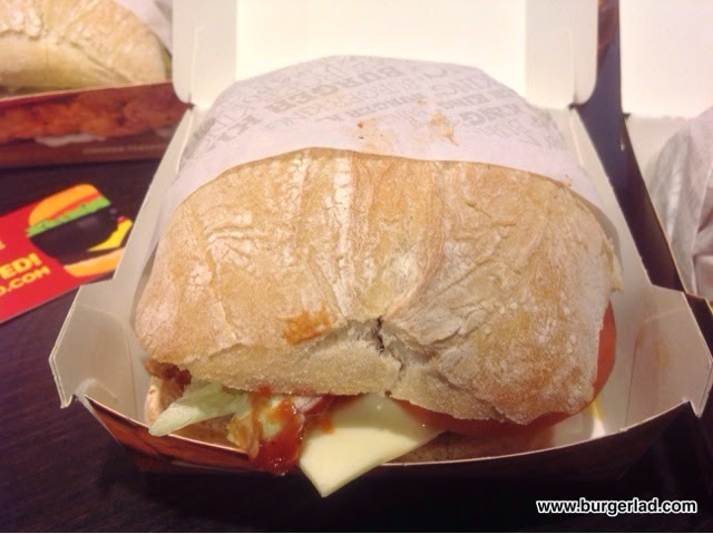Burger King Ciabatta Chicken TenderCrisp