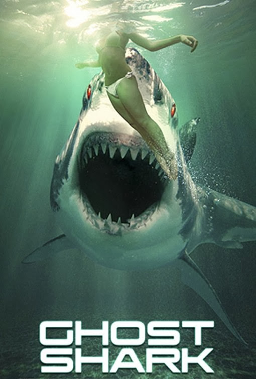 Poster Of English Movie Ghost Shark (2013) Free Download Full New Hollywood Movie Watch Online At Alldownloads4u.Com