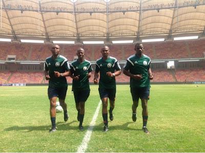 Super 4 Match Day Three: Match Officials