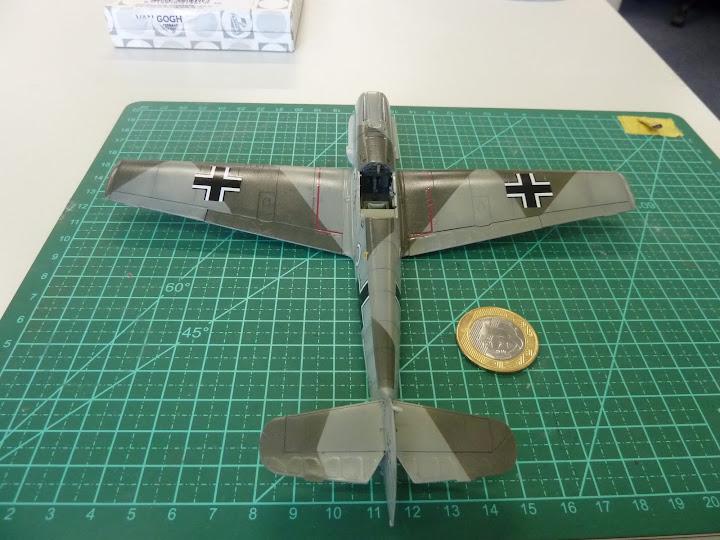 Bf-109 E-3 Tamiya 1/48 - Reforma pintura P1020499